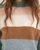 "Picture of Women's Striped Knit Sweater ""Lorena"""
