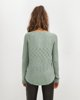 """Picture of Women's Knit Top """"Valentina"""" Jade"""