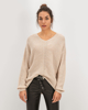 "Picture of Women's Pullover ""Pipa"" Camel Melange"