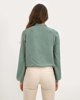 "Picture of Women's Soft Touch Knitted Pullover ""Elva"" Jade"