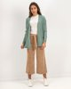 "Picture of Women's Knit Open Cardigan ""Mica"" Jade"