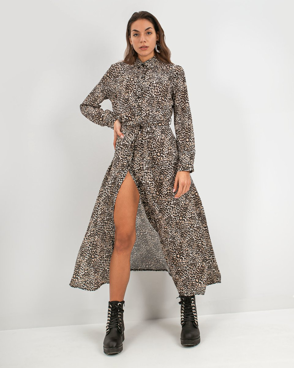 "Picture of Maxi Dress ""Madi"" Animal Print"