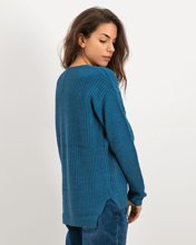 """Picture of Women's Pullover """"Maria"""" in Petrol"""