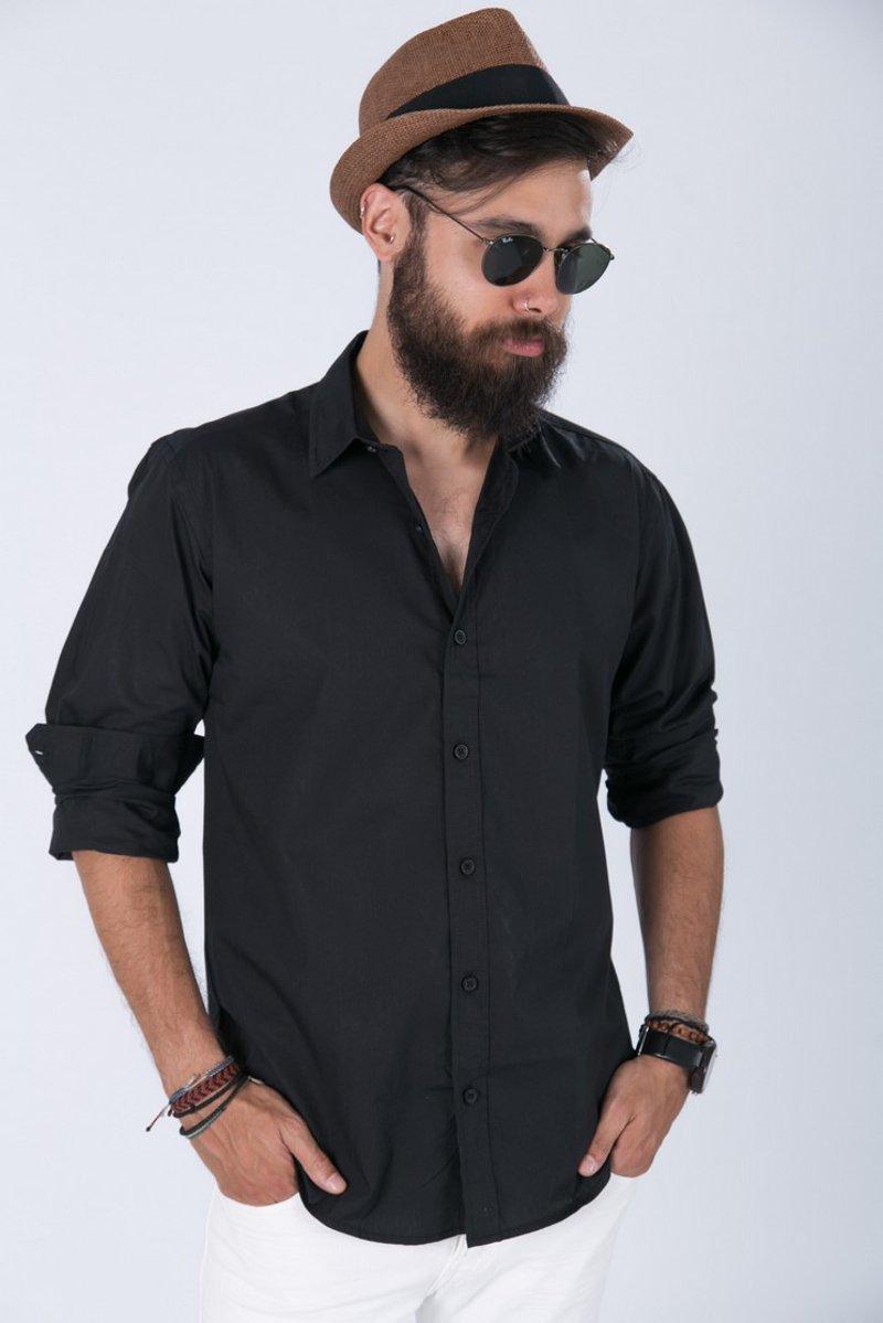 Picture of Men's Shirt ''Ozel'' Black