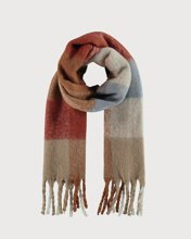 """Picture of Women's Scarf """"Xiara"""" in Blue Light"""