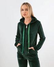 Picture of Women's Velvet Cardigan in Green