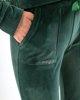 """Picture of Women's Velvet Sport Pants """"Kalia"""" in Green"""