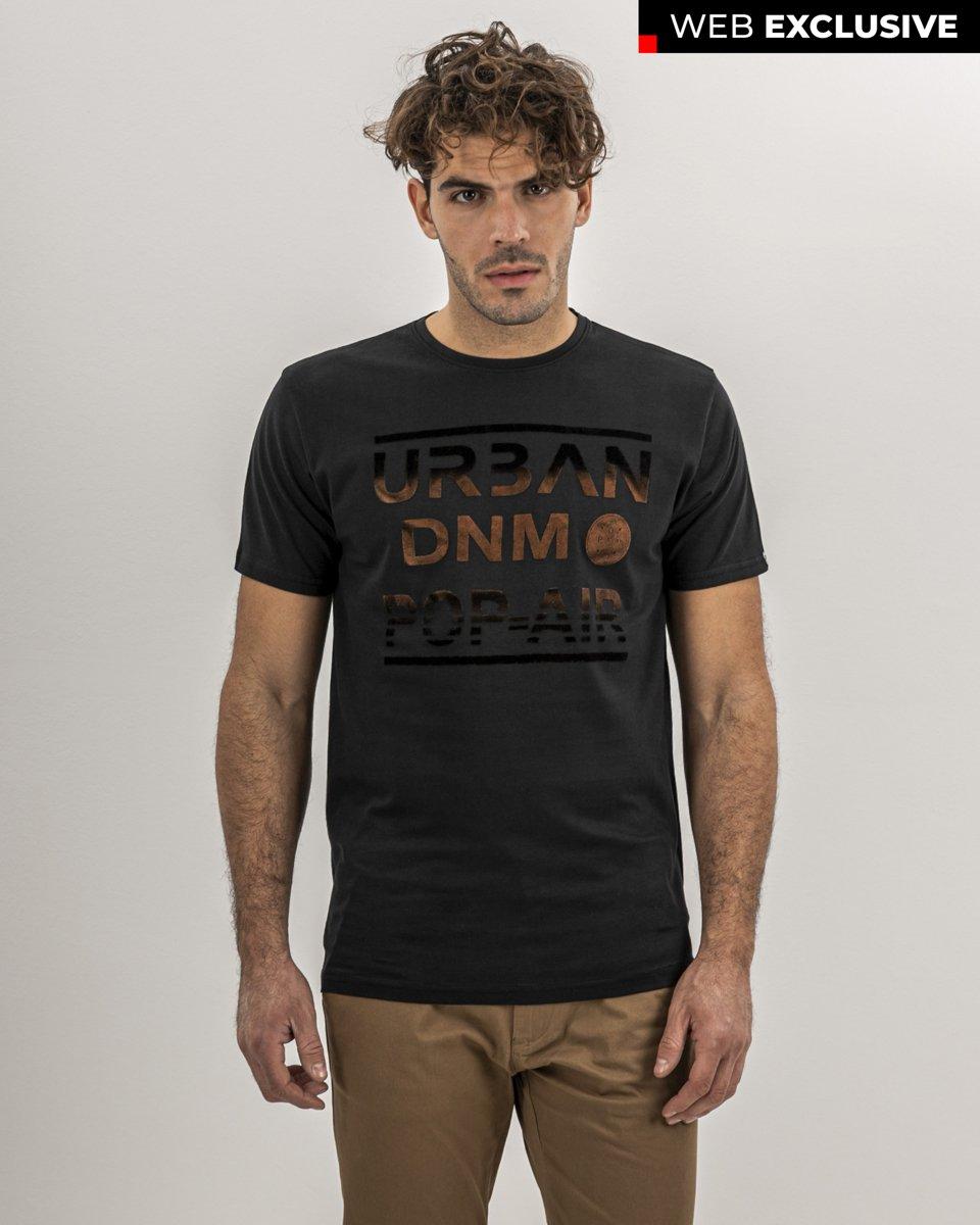 """Ανδρικό T-Shirt """"Urban DNM"""" Μαύρο"""