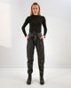 "Picture of Women's Faux Leather Pants ""Lisa"" in Black"