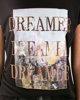 """Γυναικεία Κοντομάνικη Μπλούζα """"Dreamer"""" Μαύρο"""