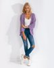 """Picture of Women's Knit Open Cardigan """"Vanessa"""" in   Lilac"""