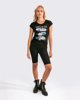 "Picture of Women's Short Sleeve T-Shirt ""Sana"" in Black"
