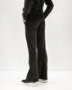"""Picture of Women's Velvet Sport Pants """"Kalia"""" in Black"""