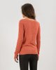 """Γυναικεία Μακρυμάνικη Μπλούζα Πλεκτή """"Zina"""" σε Χρώμα Wild Rose Melange"""