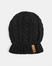 Picture of Men's Knitted Beanie in Black