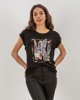 "Picture of Women's Short Sleeve T-Shirt ""Suri"" Black"