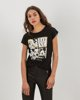 """Picture of Women's T-Shirt """"Mylie"""" in Black"""
