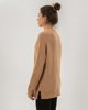 """Picture of Women's Knitted """"Marle"""" in Camel Melange"""