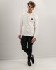 "Picture of Men's Sweater ""POP-AIR"" in White"