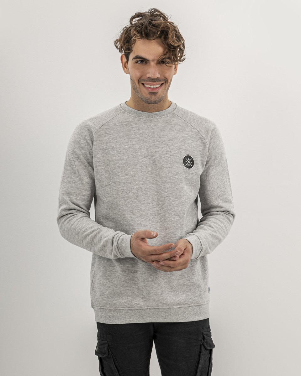 """Picture of Men's Sweater """"POP-AIR"""" in White"""