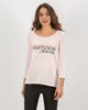 """Picture of Women's T-Shirt """"Happiness"""" in Pink"""