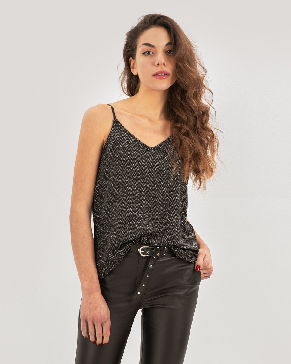 """Picture of Women's Top """"Elly"""" Silver"""