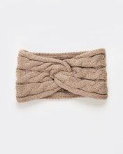 """Picture of Women's Knit Headband """"Roma"""" in Beige Melange"""