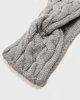 "Picture of Women's Knit Headband ""Roma"" in Grey Melange"