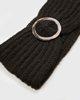"Picture of Women's Knit Headband ""Elisabeth"" in Black"