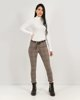 "Picture of Woman's Pants ""Mandy"" Toffee Check"