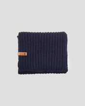 Picture of Men's Basic Knit Scarf Blue Navy