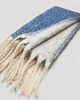 """Picture of Women's Scarf """"Ally"""" in Blue Navy"""