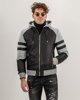 "Picture of Men's Jacket ""Moto"" in Black"