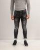 Ανδρικό Παντελόνι Denim σε χρώμα Μαύρο