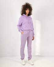 """Picture of Women's Soft Jogging Trousers """"Jogina"""" in Levander"""