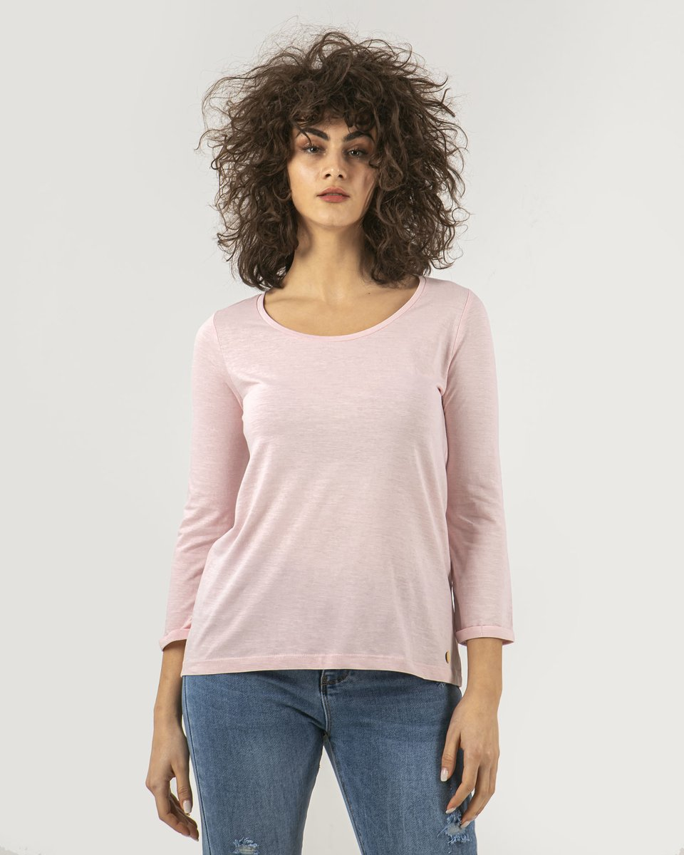 "Picture of Women's T-Shirt Flama 3/4 ""Princess"" in Pink"