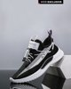 """Picture of Men's Technical Fabric Sneakers """"Casual"""" in Black"""