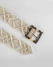 """Picture of Womens belt """"Isy"""" in Offwhite"""