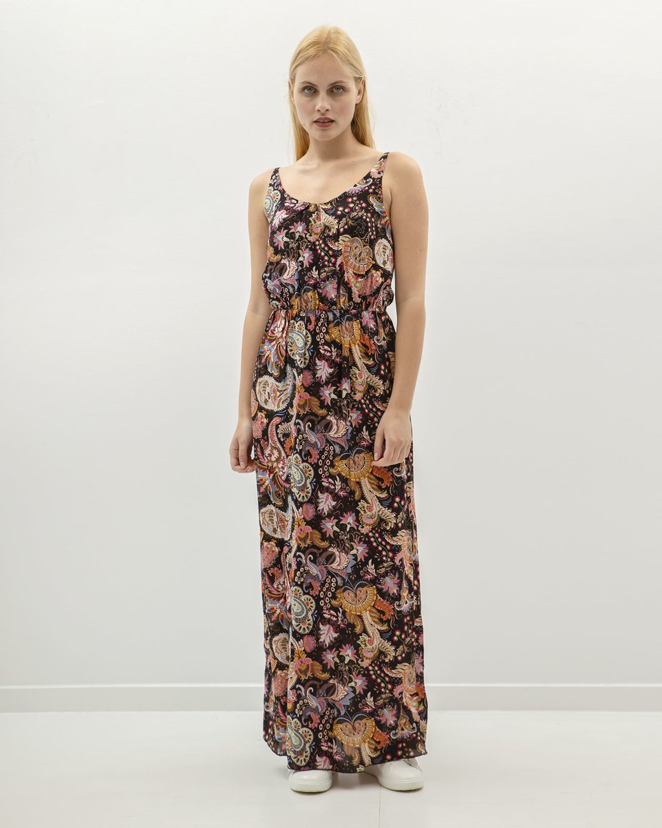 "Picture of Maxi Diverse Dress ""Doris"" in Black"