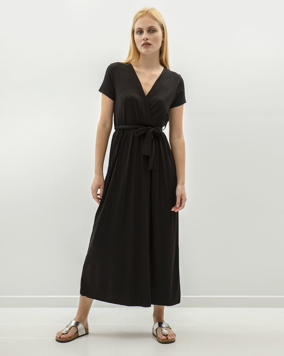 """Picture of Maxi Dress """"Merle"""" in Black"""