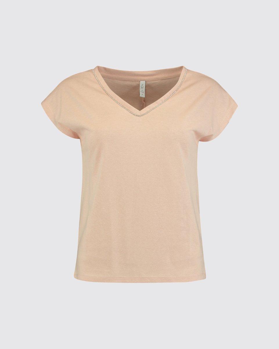 """Γυναικείο Κοντομάνικο T-Shirt """"Bianca"""" Ροζ"""