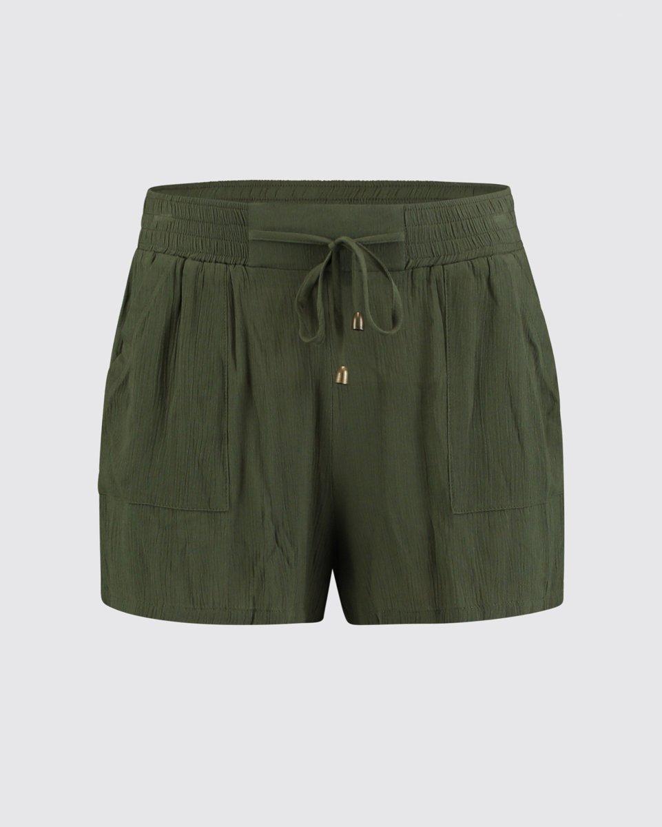 "Picture of Women's Bermuda Shorts ""Maja"" in Khaki"