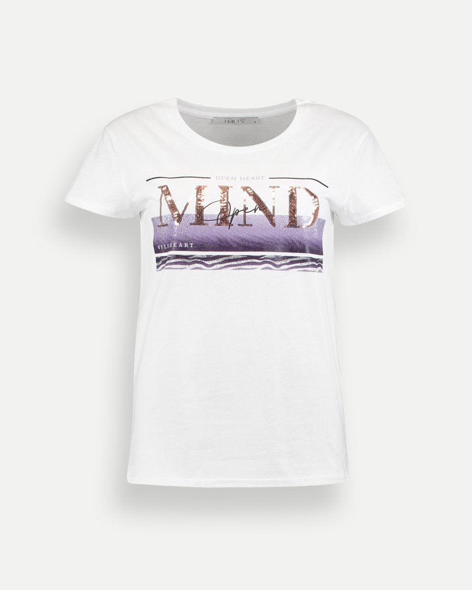 """Picture of Women's Short Sleeve T-Shirt """"Brigit """" in White"""