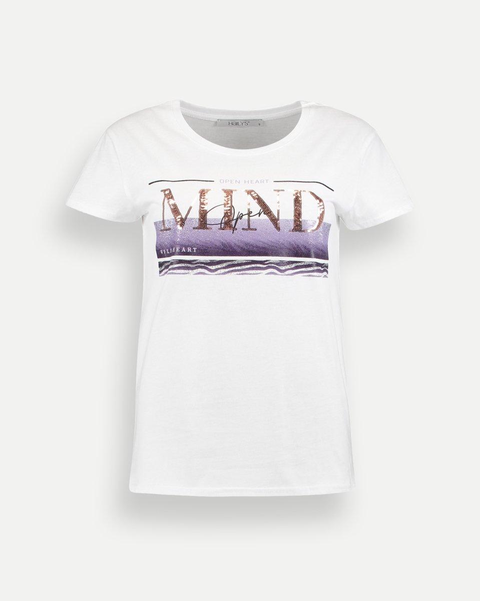 """Γυναικείο Κοντομάνικο T-Shirt """"Brigit"""" Λευκό"""