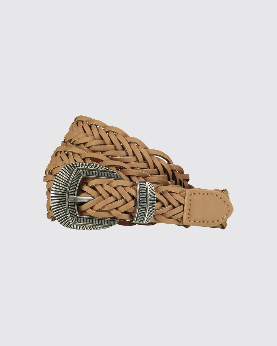 """Picture of Women's Like Leather Belt """"Zanya"""" in Beige"""