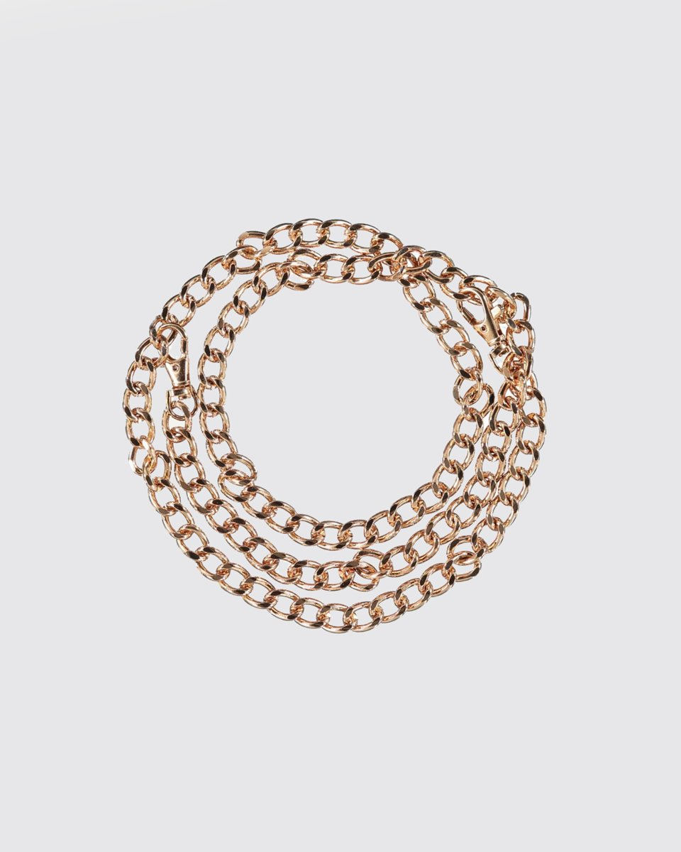 "Picture of Metal Chain Link Belt ""Cara"" in Gold"