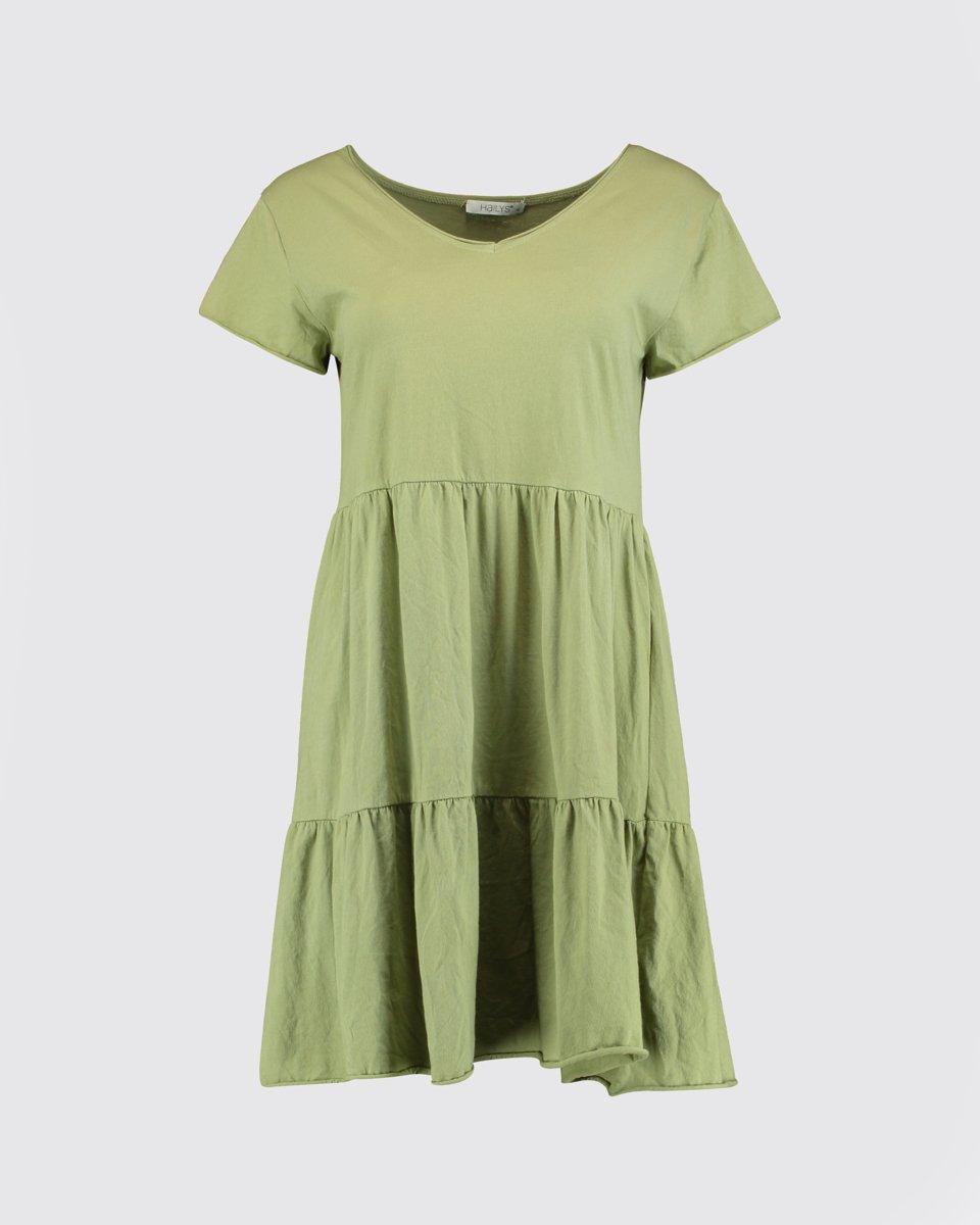 """Μίνι Φόρεμα """"Poppy"""" Ανοιχτό Πράσινο"""