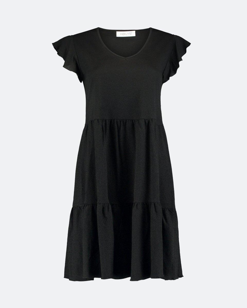 "Picture of Mini Dress ""Leonie"" in Black"