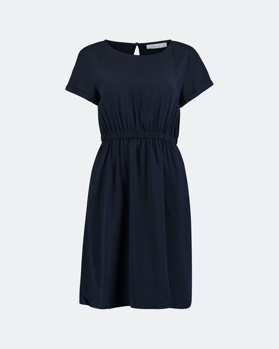 "Picture of Midi Dress ""Denise"" in Blue Navy"
