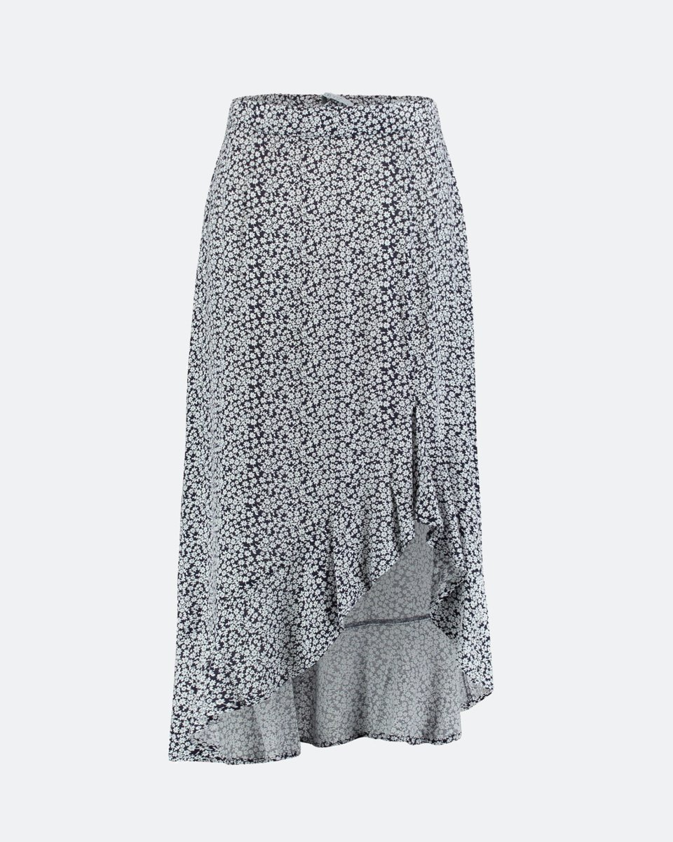 """Picture of Maxi Floral Skirt """"Sophie"""" in Navy"""
